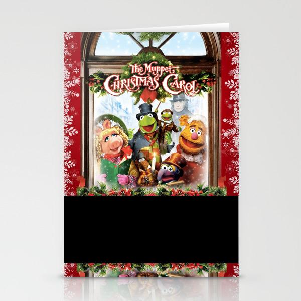 The Muppet Christmas Carol Stationery Cards by Emdavis27 CRD7821293