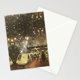 Enter the night  Stationery Cards