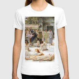 Lawrence Alma-Tadema - Women Of Amphissa - Digital Remastered Edition T-shirt