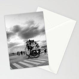 Nazare Festival BW Stationery Cards