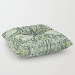 William Morris, Art nouveau pattern, beautiful art work, fabric pattern, belle époque,victorian,flor Floor Pillow