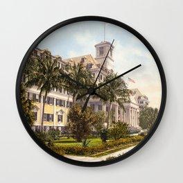 The Royal Poinciana, Palm Beach, Florida, 1900 Wall Clock