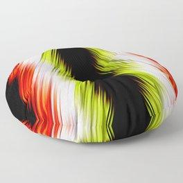 stripes wave pattern 8v1 pp Floor Pillow