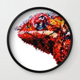 Low Poly Iguana Design Wall Clock