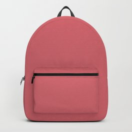 Glamorous Dark Pink Solid Color Pairs To Sherwin Williams Grenadine SW 6592 Backpack