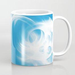 abstract fractals mirrored reacwb Coffee Mug