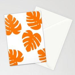 Orange Palm Stationery Cards