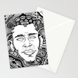 Black on Both Sides Stationery Cards
