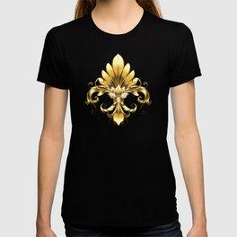 Golden Fleur de Lis T-shirt