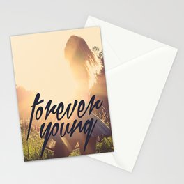 FOREVER YOUNG Stationery Cards