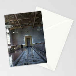Los Angeles Union Station Interior Stationery Cards