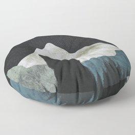 Black Cat 2 Floor Pillow