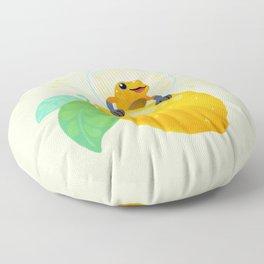 Golden poison lemon sherbet 1 Floor Pillow
