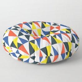 Mid Century Primary 03 Floor Pillow