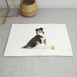 Australian Shepherd Dog Rug