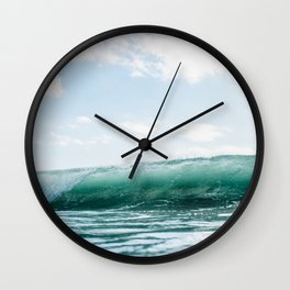 The Ocean Calms My Restless Soul Wall Clock