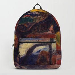 "Paul Gauguin ""Rave te hiti aamu (The Idol)"" Backpack"