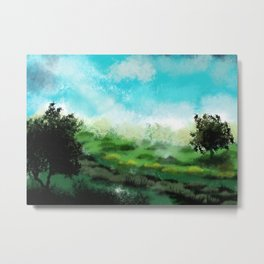 Nice day in the valley Metal Print