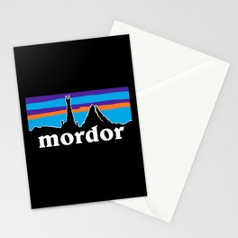 barad dur Stationery Cards