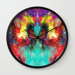 Purple Haze Wall Clock