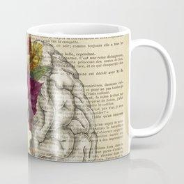 medical floral brain Coffee Mug