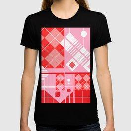 the joyful jacquard pink experience T-shirt