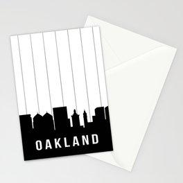 Oakland Skyline Stationery Cards
