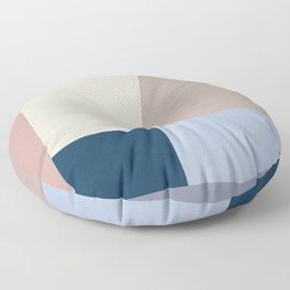Abstract Geometric Minimal Abstract Design Floor Pillow