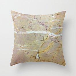 Crippled Stone Throw Pillow