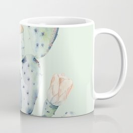 Prettiest Mint Cactus Rose Coffee Mug
