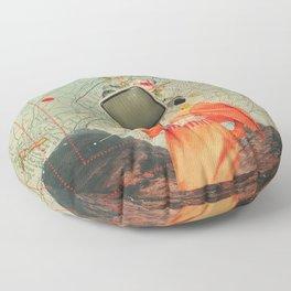 Antarctic Broadcast Floor Pillow