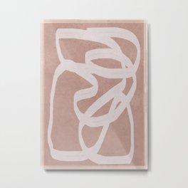 Abstract Flow I Metal Print