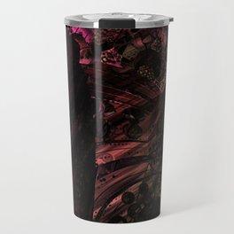 Pink metal Travel Mug