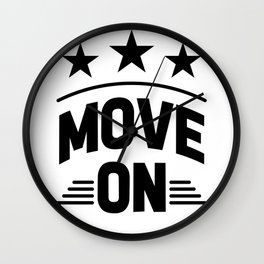 Move on Wall Clock
