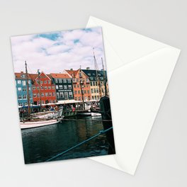 Nyhavn Copenhagen on a Late Summer Day Stationery Cards