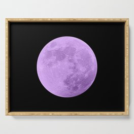 LAVENDER MOON // BLACK SKY Serving Tray