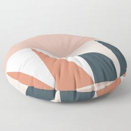 Cirque 04 Abstract Geometric Floor Pillow