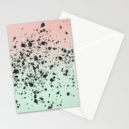 Mint, Blush, Back. Stationery Cards