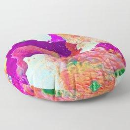 Abstract Melt I Floor Pillow