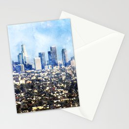 Los Angeles, California Stationery Cards
