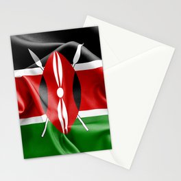Kenya Flag Stationery Cards