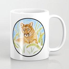Reise Cougar on Hilltop Coffee Mug