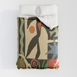 Inspired to Matisse (vintage) Comforters