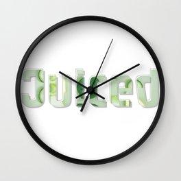 Juiced Wall Clock
