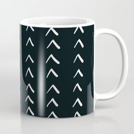 MOD_RowsofArrows_Charcoal Coffee Mug