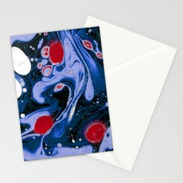 Marble Night Stationery Cards