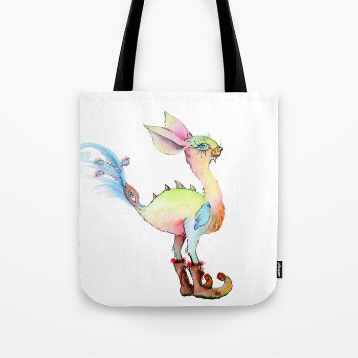 Sabertooth Birdiebunnyboo Tote Bag