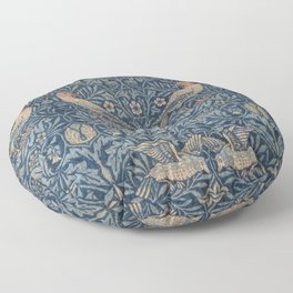 William Morris Bird Pattern Floor Pillow
