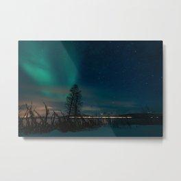 Aurora Borealis, Northern Lights Metal Print