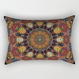 Ayahuasca Mandala Rectangular Pillow